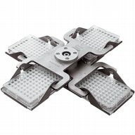 4 place rotor for microtitre plates