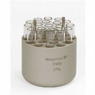 Round carrier for 19 tubes 9-15ml, Monovettes 9-10ml