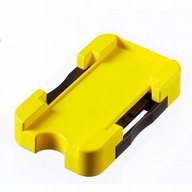 Slide carrier with fastening slider