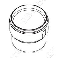 600 ml round metal bucket for rotor A4723