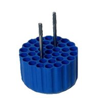 ADAPTERS (BLUE) FOR 37 x 12mm dia TUBES - min length 50mm max length125mm