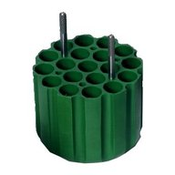 ADAPTERS (GREEN) FOR 19 x 17mm dia TUBES- min length 63mm max length 125mm