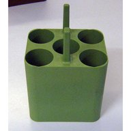 Set of 4 Rectangular Adapters 5 x 50  ml conical
