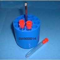 4 adapters for 4x14 tubes of 7 ml Vacutainer