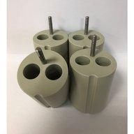 Adapters for 2 X 15ml conical tubes (Set of 4)