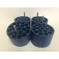 Set of 4 adapters for 19 X 5/7ml VAC Blood Tubes