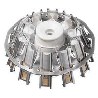 Open disk rotor, 12 place
