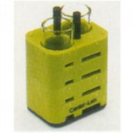 Adaptor 2 x 50 ml DIN standard tube, Centri-Lab (green)