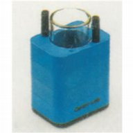 Adaptor 1 x 100 ml DIN standard tube, Centri-Lab (blue)